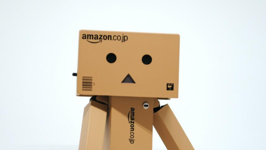 Männchen aus Amazon-Kartons