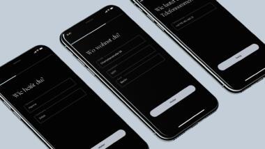 Screenshots Luca App