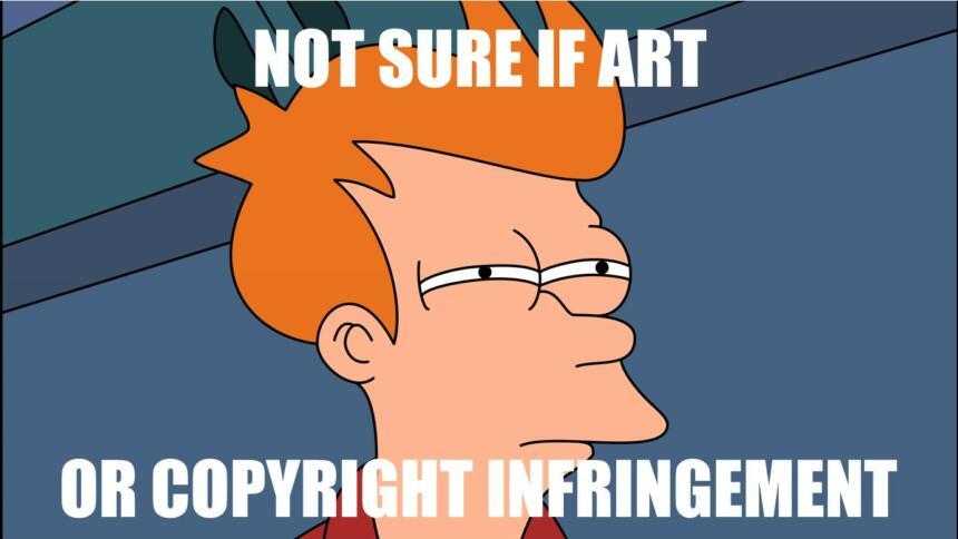 Ein zum Meme gewordenes Bild des Futurma-Charakters Fry