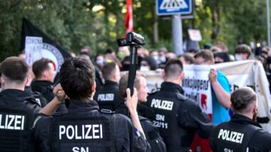Polizei filmt mit