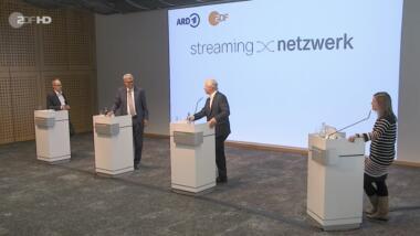 Pressekonferenz zur Verkündung des Streaming-Netzwerks von ARD & ZDF