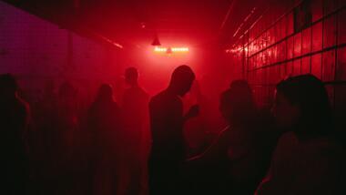 Menschen in einem Club