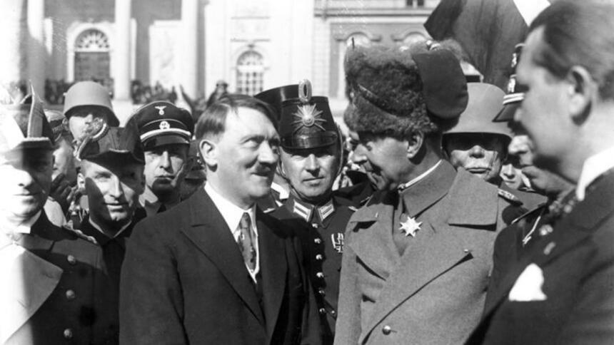 Hitler, Kronprinz Wilhelm, Göring