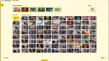 Vorschaubilder von YouTube-Videos
