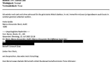 Screenshot Mails