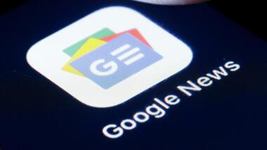 Die Google-News-App