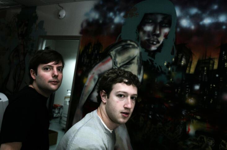 Mark Zuckerberg als junger Mann