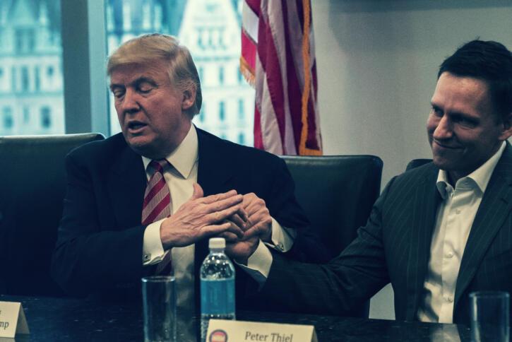 Donald Trump und Peter Thiel