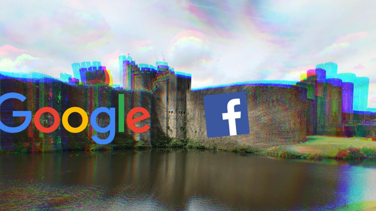 Wie Google und Facebook sich die Konkurrenz vom Leib halten