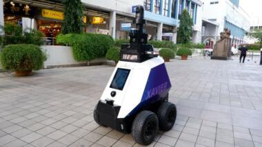 Überwachungsroboter Xavier