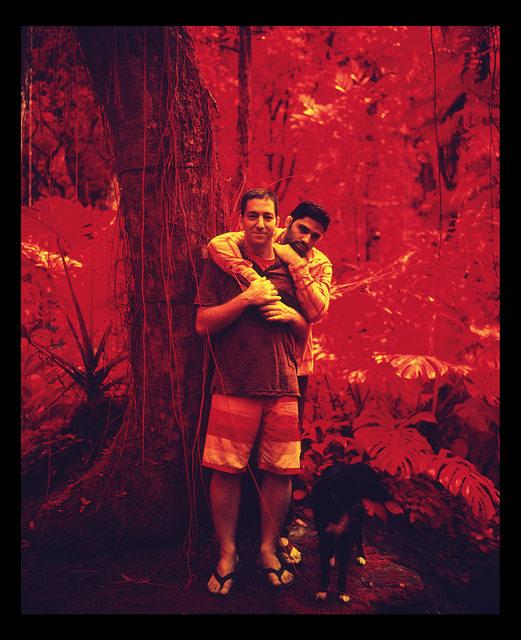 Glenn Greenwald & David Miranda (São Paulo), 2012. Jacob Appelbaum. CC BY-NC-SA 2.0