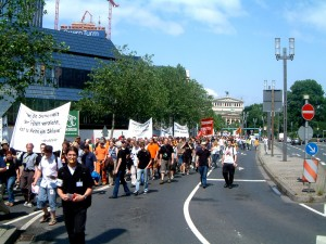 Demo in Frankfurt a.M.