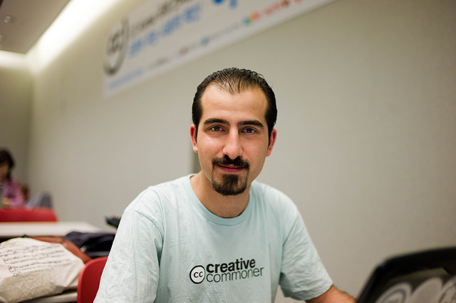 Bassel im Juni 2010 | CC BY 2.0 by Joi Ito