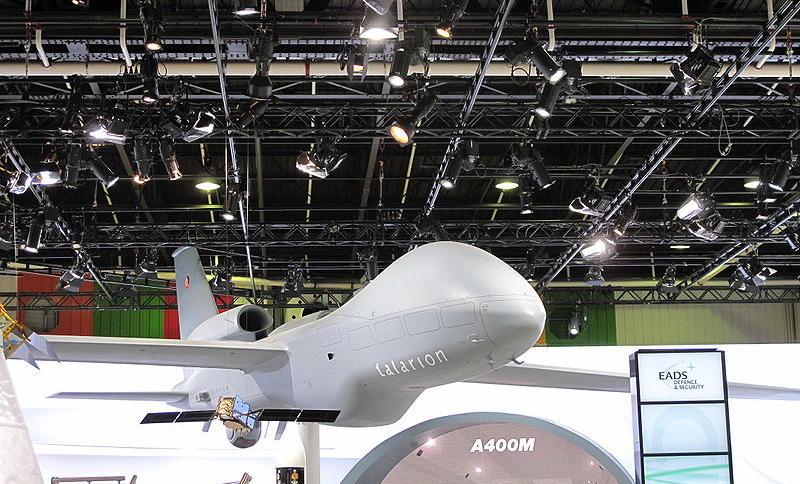 """Der frühere """"Talarion"""" von EADS (Modell) war der erste Versuch, eine """"europäische Drohne"""" auf den Weg zu bringen."""