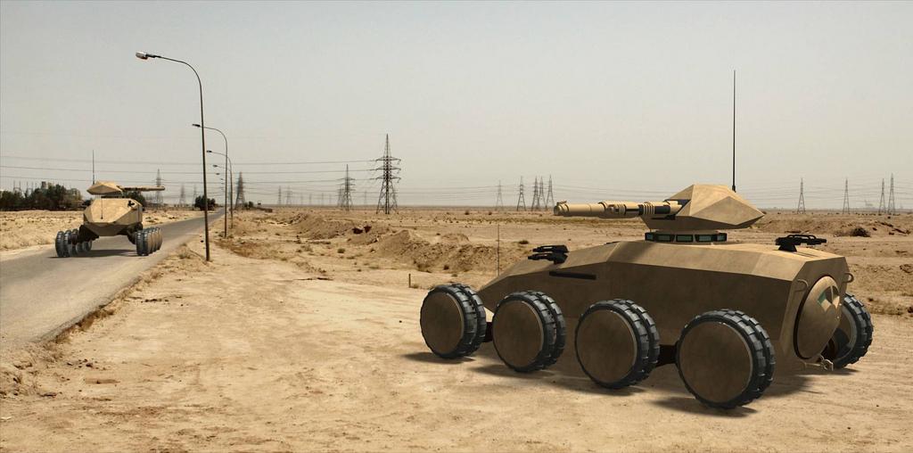 future vehicle military