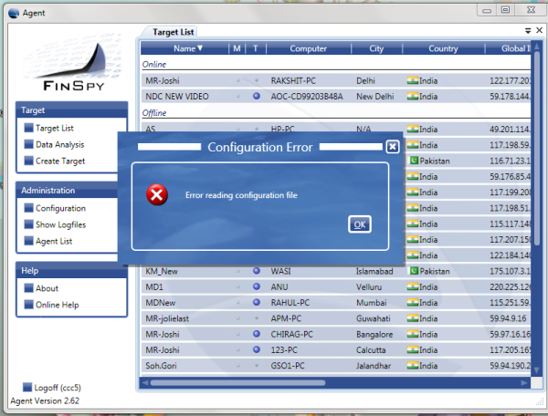 """FinSpy - the professional botnet C&C solution"""