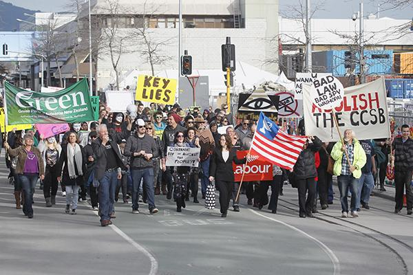 2013 News Photo: John Kirk-Anderson/ The Press / Fairfax NZ