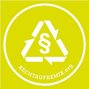 Logo der Initiative für ein Recht auf Remix