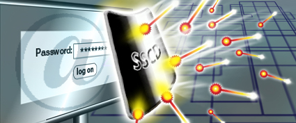 Massenüberwachung soll den Cyberraum sicher machen. Symbolbild: BND.