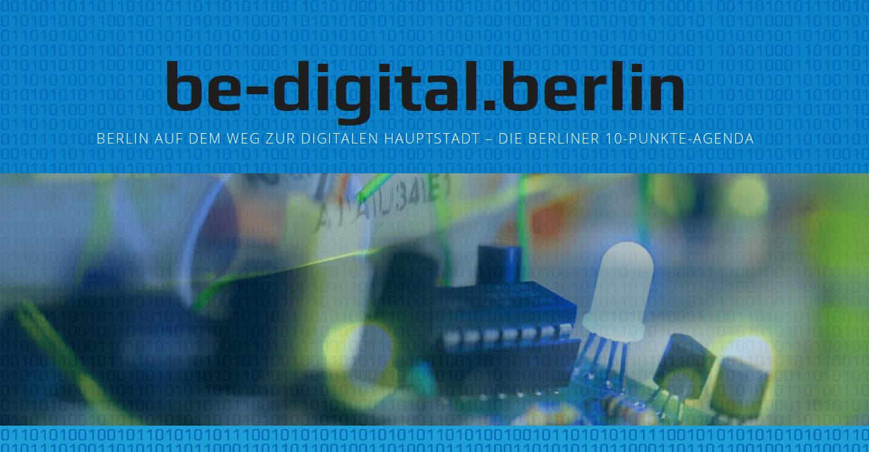 Berlin auf dem Weg zur Digitalen Hauptstadt