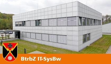 Betriebszentrum IT-System der Bundeswehr in Rheinbach.