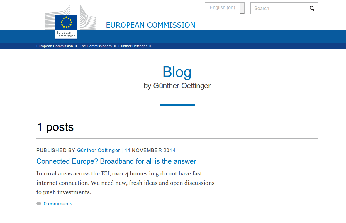 Blog by Günther Oettinger - European Commission 2014-11-14 15-11-46