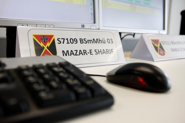 """Kontrolle einer """"Bodenstation mittelgroß Multiband handelsüblich"""". Bild: Ströter, PIZ SKB."""