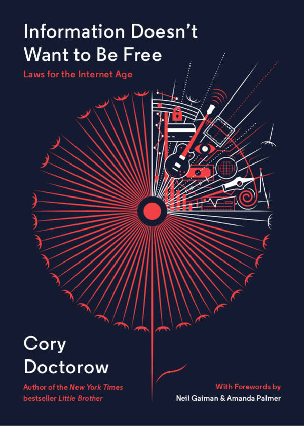 Cory Doctorow – Information Doesnt Want to Be Free cover