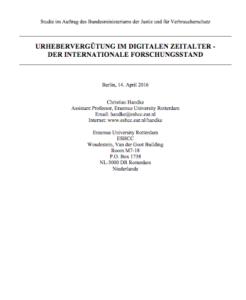 Cover-Handke-Studie