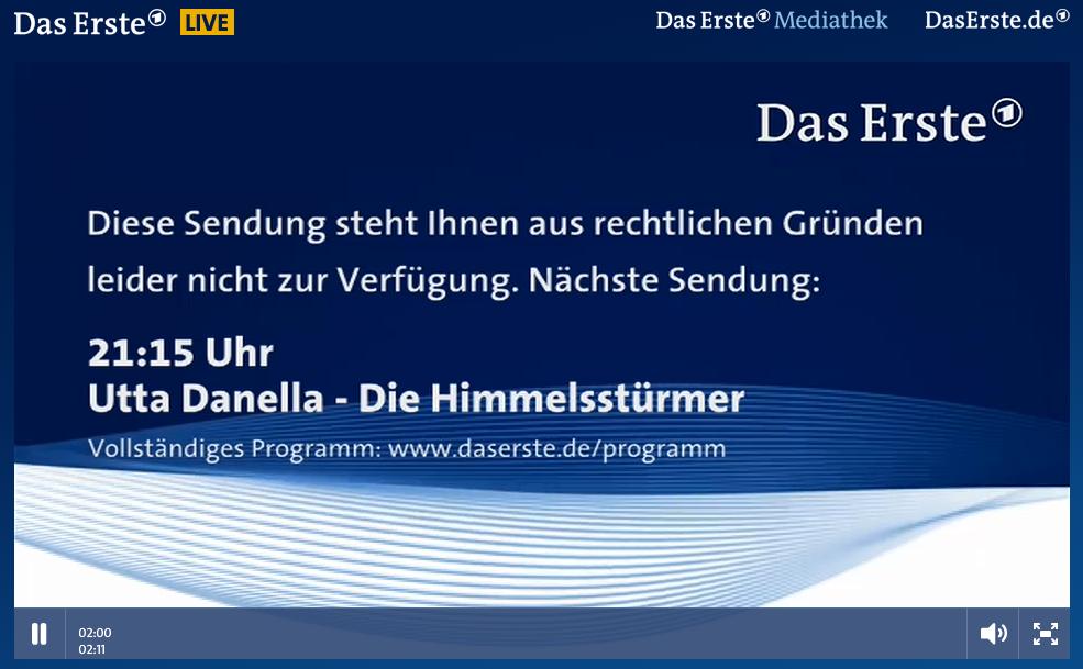DasErste Livestream - Erstes Deutsches Fernsehen [ARD] - Live 2014-02-14 21-06-02