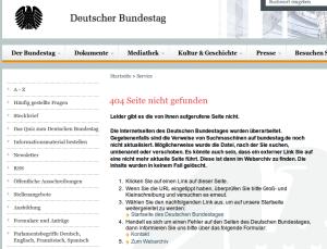Deutscher Bundestag: Fehler 2014-10-08 12-30-06
