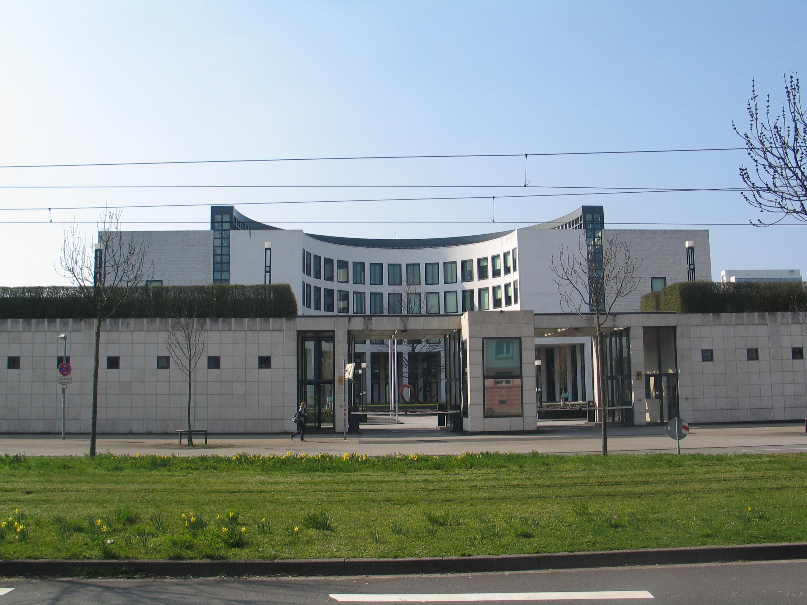 Sitz der Generalbundesanwaltschaft in Karlsruhe. Bild: Voskos. Lizenz: Creative Commons BY 3.0.