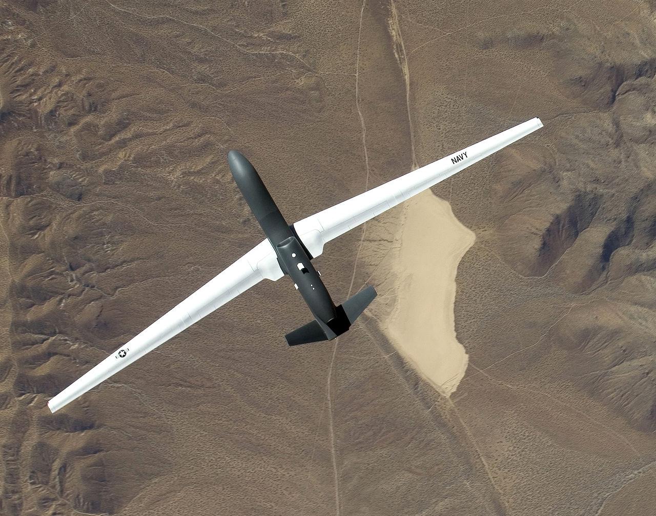 "Drohne RQ-4, ""Stolz der Bundeswehr"". Bild: Jim Gordon. Quelle: Wikimedia Commons. Lizenz: CC BY 2.0."