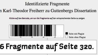 guttenberg dissertation plagiat