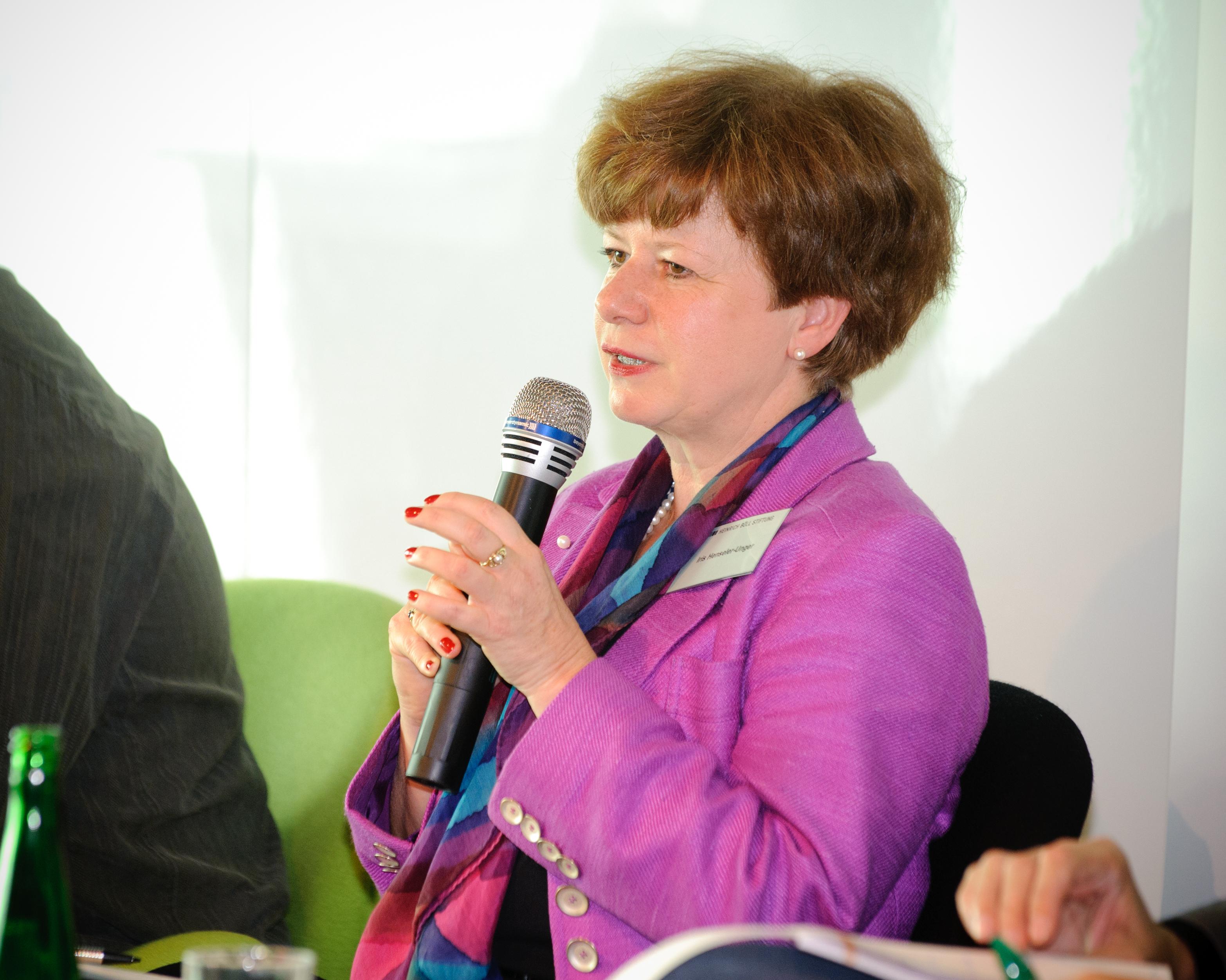 Ehemalige Vizepräsidentin der Bundesnetzagentur: Iris Henseler-Unger. Bild: Stephan Röhl. Lizenz: Creative Commons BY-SA.