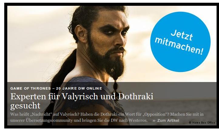Live aus Westeros | DW.DE 2014-09-15 11-49-50