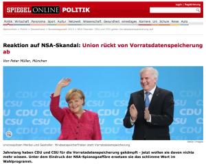 NSA-Skandal: CDU und CSU geben Vorratsdatenspeicherung auf - SPIEGEL ONLINE 2013-07-05 09-47-03