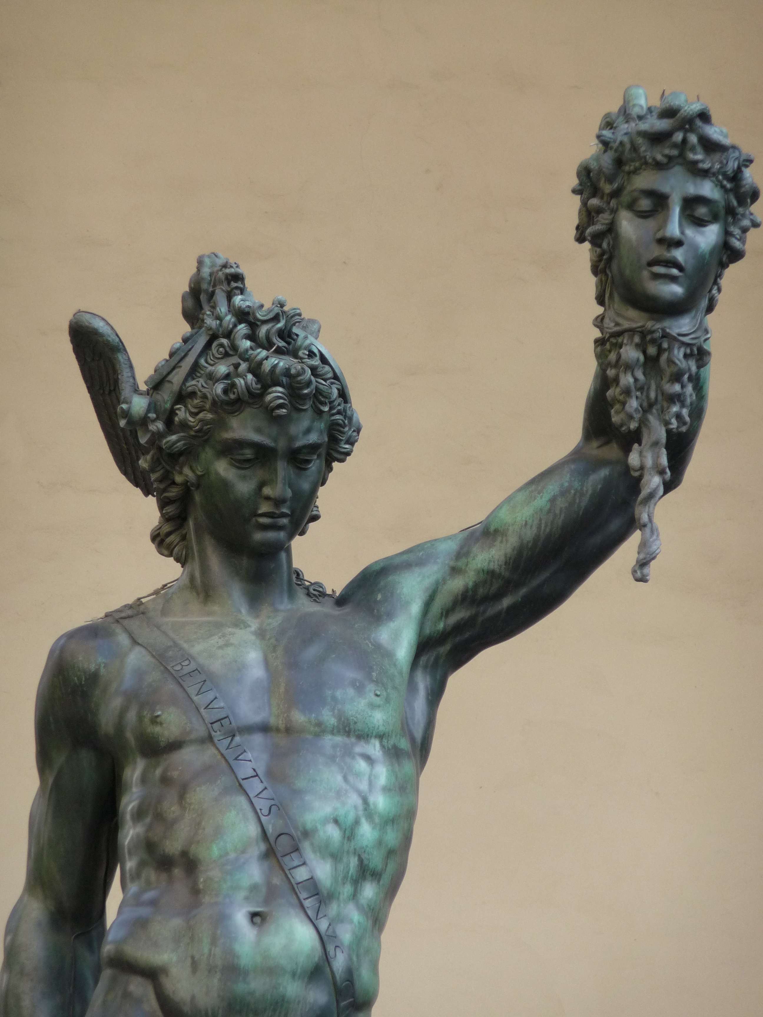 Perseus mit dem Haupt der Medusa. Bild: Jörg Bittner Unna. Lizenz: Creative Commons BY 3.0.