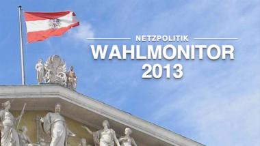 Wahlmonitor.at: Wahlprüfsteine der Netzpolitik