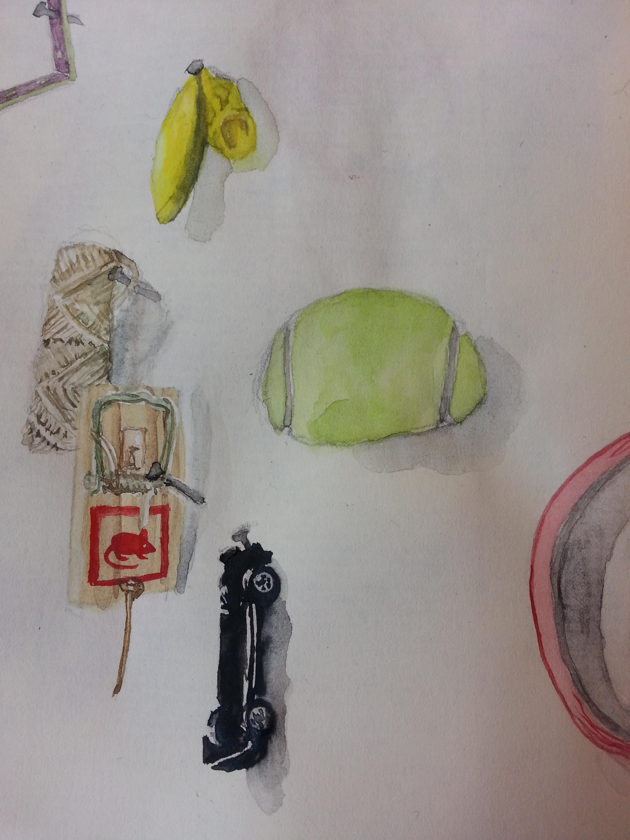 In der Fabrik Zeichnung: Stella Schiffczyk