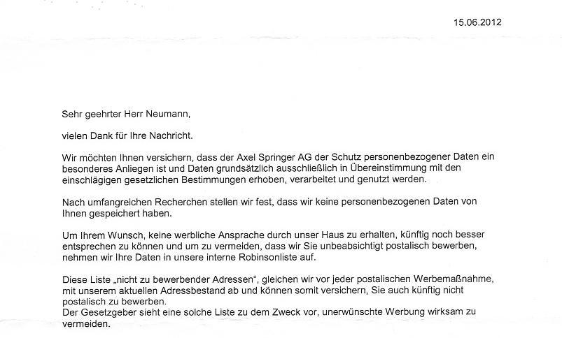 cb62eee0e0 Am 23. Juni möchte der Springer-Verlag bekanntermaßen alles Haushalte in  Deutschland mit einer Gratis-Bild-Zeitung versorgen. Schon seit einigen  Monaten ...