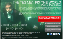 THE YES MEN FIX THE WORLD — Peer-to-Peer Edition_1279895117682