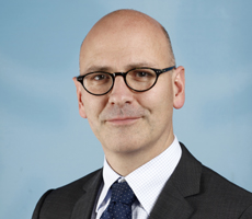Jens Teschke, Sprecher des Innen-Ministeriums und Leiter des Referats Presse