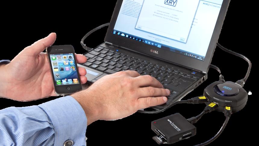 Gibt's auch beim LKA und der Polizei in Sachsen: Die Software XRY von Micro Systemation.