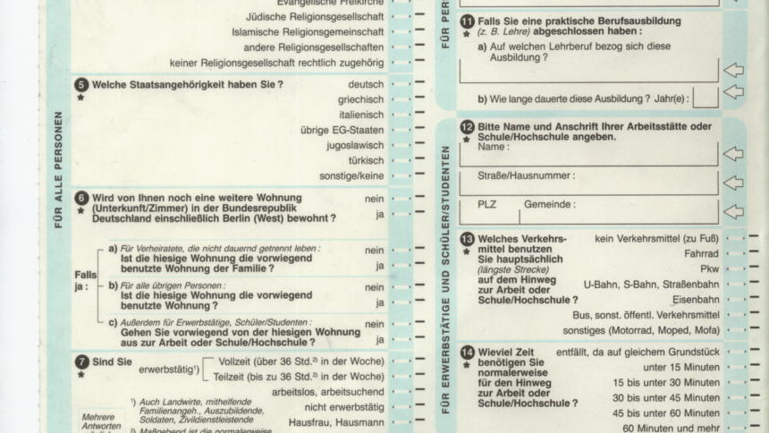 Alles Gute Zum 30 Geburtstag Des Volkszählungsurteils Netzpolitikorg