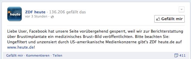 ZDF heute - Liebe User, Facebook hat unsere Seite vorübergehend... 2013-12-13 10-49-18
