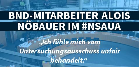 Alois Nöbauer im #NSAUA am 25.11.15