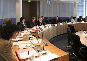 Der Bundestagssausschuss für Verkehr und digitale Infrastruktur