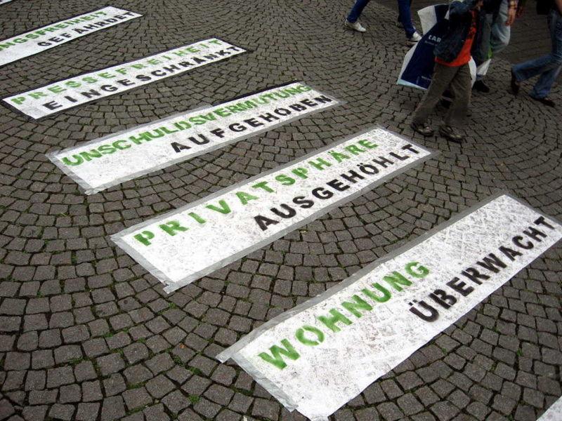 Aktionen in Bonn