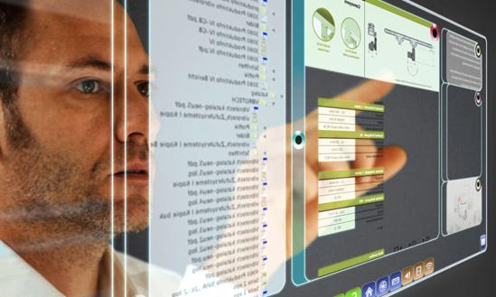 """Illustration des inzwischen beendeten EU-Forschungsprojekts """"Gemeinschaftliche Information, Beschaffung, Verarbeitung, Verwertung und Meldung"""" von Informationen aus Sozialen Medien""""."""
